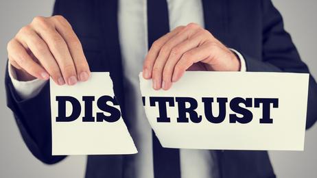 Distrust - trust